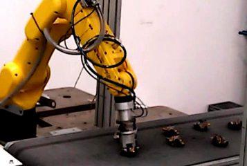 guiado robot con vision artificial