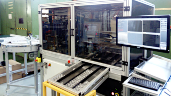 Machine for verification and marking