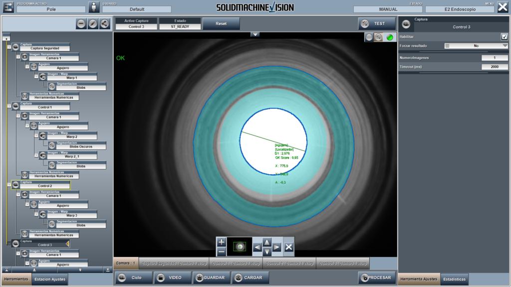 Novedades en sistemas de control de calidad con visión artificial para piezas de automoción